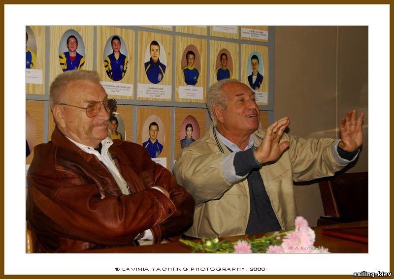 Сергей Машовец и Валентин Манкин